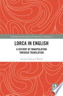 Lorca In English