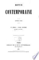Revue contemporaine