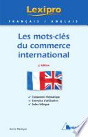 Les mots cl  s du commerce international   Anglais