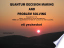 Supplement I Quantum Decision Making And Problem Solving