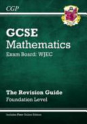 GCSE Maths WJEC Linear Revision Guide   Foundation