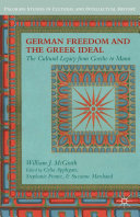 download ebook german freedom and the greek ideal pdf epub