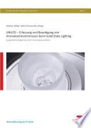 Uniled Erfassung Und Beseitigung Von Innovationshemmnissen Beim Solid State Lighting