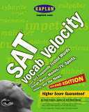 SAT Vocab Velocity  Learn 623 Frequently Tested Words Through Music  Movies  TV  Sports  History  and the News