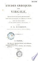 Etudes grecques sur Virgil