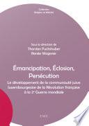 mancipation    closion  Pers  cution