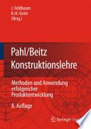 Pahl Beitz Konstruktionslehre