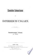 Eisenbahn-Schematismus für Österreich-Ungarn: Eisenbahn-Schematismus für Österreich-Ungarn