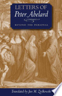Letters Of Peter Abelard Beyond The Personal