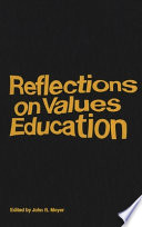 Reflections on Values Education