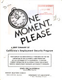 One Moment  Please Book PDF