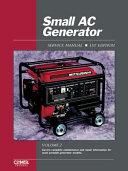 Small AC Generator Service