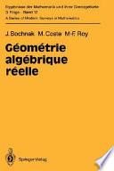 Géométrie algébrique réelle