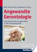 Angewandte Gerontologie
