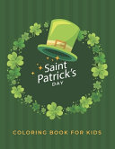 Saint Patrick S Day Coloring Book For Kids