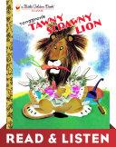 Tawny Scrawny Lion (Little Golden Book): Read & Listen Edition Book