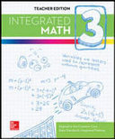 Integrated Math Course 3 Student Edition