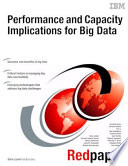 Performance And Capacity Implications For Big Data