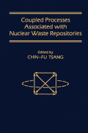 Coupled Processes Associated With Nuclear Waste Repositories book