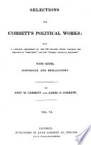 Selections from Cobbett s Political Works