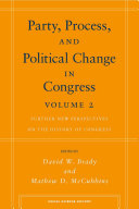 Party  process  and political change in Congress