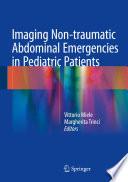 Imaging Non Traumatic Abdominal Emergencies In Pediatric Patients