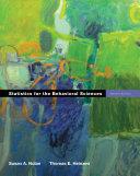statistics-for-the-behavioral-sciences
