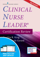 Clinical Nurse Leader Certification Review  Second Edition W App