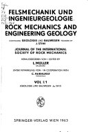 Rock mechanics and engineering geology