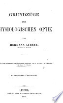 Handbuch der Gesammten Augennheilkunde