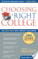 Choosing the Right College 2012–2013