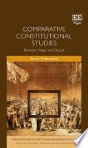Comparative Constitutional Studies