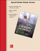 Chemistry in Context  Looseleaf Version