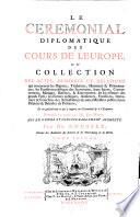 Supplement Au Corps Universel Diplomatique Du Droit Des Gens Contenant L Histoire Des Anciens Traitez Par Barbeyrac Un Recueil Des Traitez D Alliance
