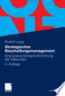Strategisches Beschaffungsmanagement