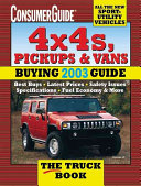 The 4x4'S, Pickups and Vans Buying Guide 2003