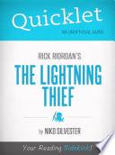 Quicklet on Rick Riordan s The Lightning Thief