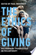 The Ethics of Giving