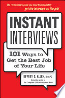 Instant Interviews : energy of new ideas. you haven't...