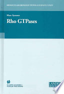 Rho Gtpases book