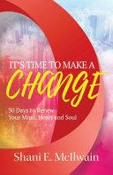 download ebook it's time to make a change pdf epub