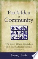 Paul s Idea of Community