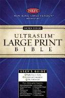 Large Print Ultraslim Bible NKJV