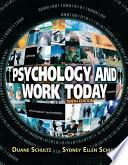 Ebook Psychology and Work Today 10E Epub Duane Schultz,Sydney Ellen Schultz Apps Read Mobile