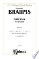 Rhapsody  Rhapsodie   Opus 53