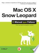 Mac Os X Snow Leopard O Manual Que Faltava