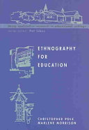 Ethnography For Education