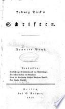 Ludwig Tiecks Schriften. Erster [ -achtundzwanziger Band]