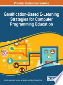Gamification Based E Learning Strategies for Computer Programming Education