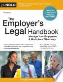 The Employer s Legal Handbook